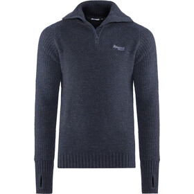 Bergans Ulriken Sweat-shirt Homme, dark blue mel